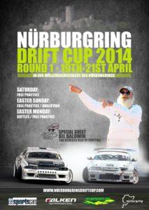 Affiche de la Nürburgring Drift Cup 2014 – Round 1