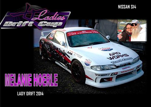 Mélanie Hoerlé - Pilote à la Ladies Drift Cup 2014