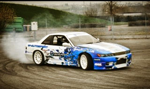 Virginie Ramos et la PS13 Sensation Drift