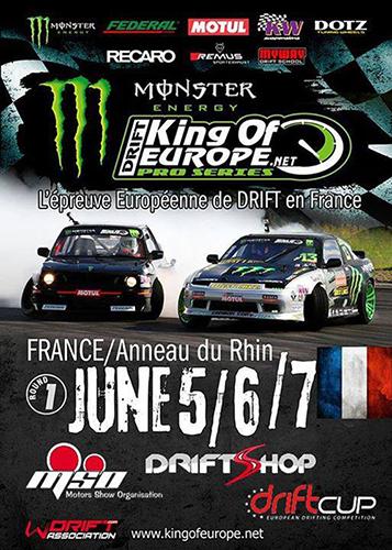 King Of Europe / DriftCup 2015 - Anneau du Rhin