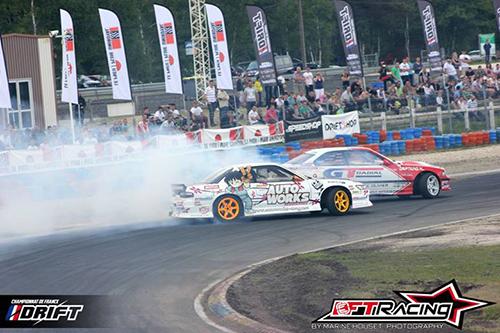 Championnat de France de Drift 2013, Round 3 à Salbris - Photo : Timothé Cousin