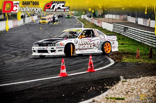 Ludovic Clini, Drift Challenge 2012, Round 5 à Albi - Photo : RG Photographie Dicouit