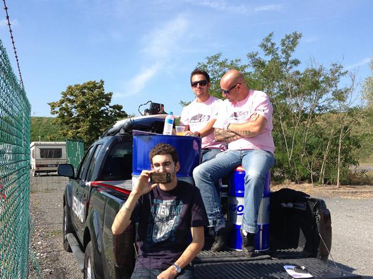 Ludovic Clini et Sébastien Lombard à la Ladies Drift Cup 2013 - Photo : Arnaud Salmin