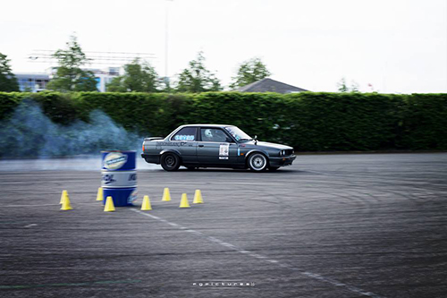 Myriam Eigel, Round 1 de la Ladies Drift Cup 2015 - Photo : FG Pictures