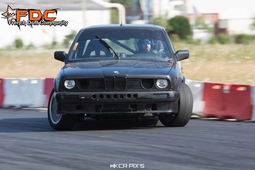 François Matthey et sa BMW E30