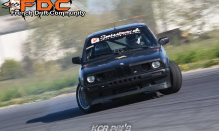 François Matthey – Pilote de drift en BMW E30