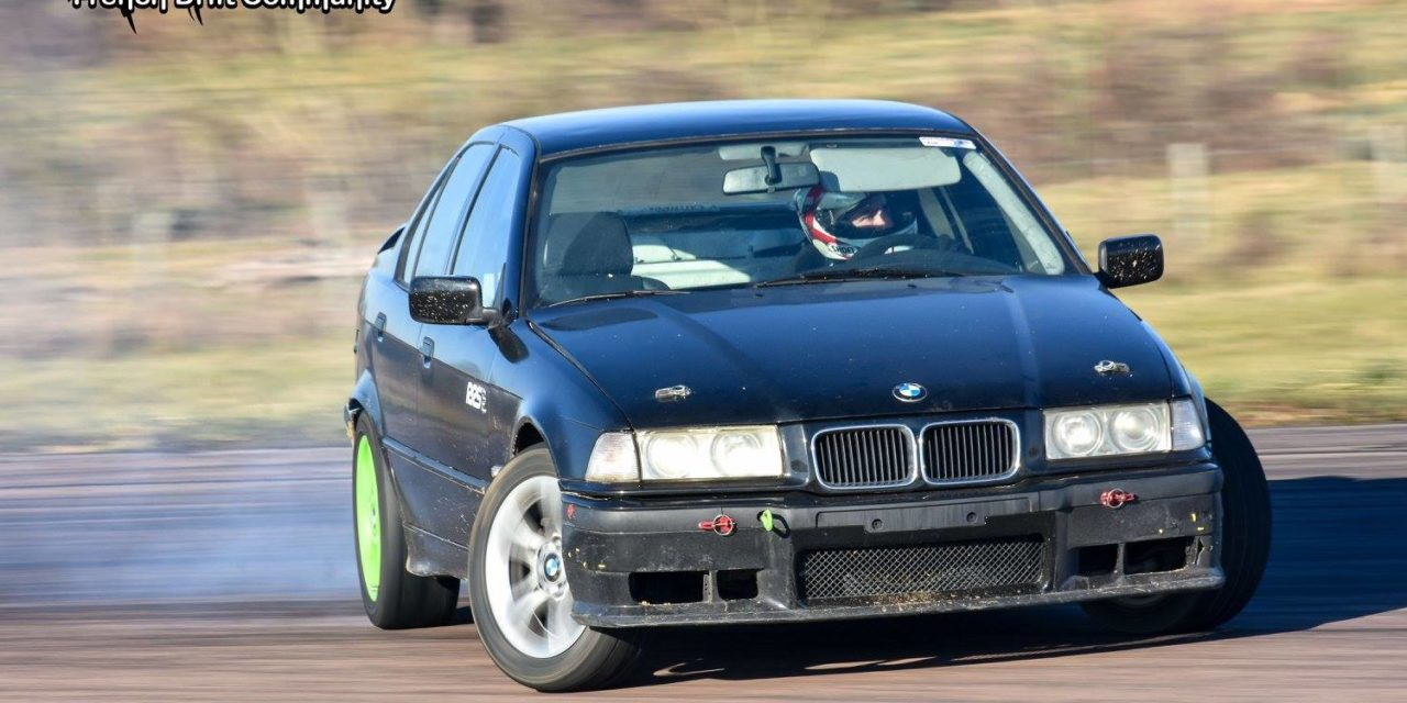 Rudy Lebret – Pilote de drift en BMW E36