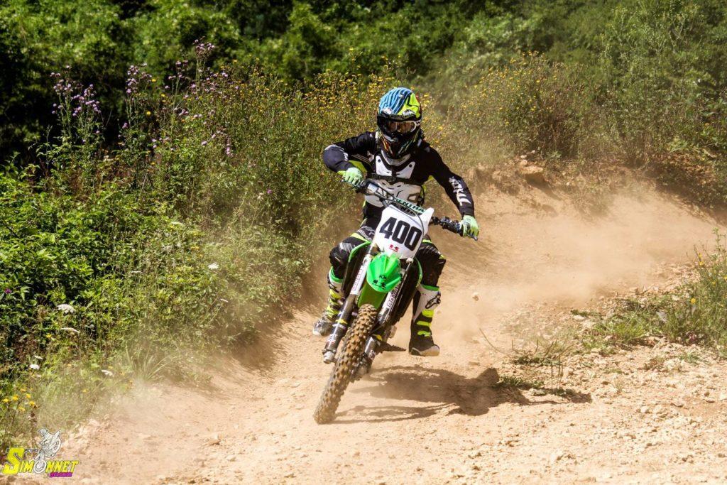 Rudy Lebret en motocross