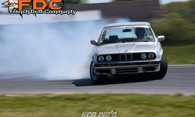 Benoît Lebret – Pilote de drift en BMW E30